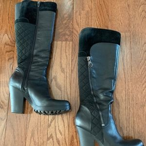 GUESS Black Heeled Boot